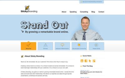 StickyBranding.com v2.0: Brands Are Never Static