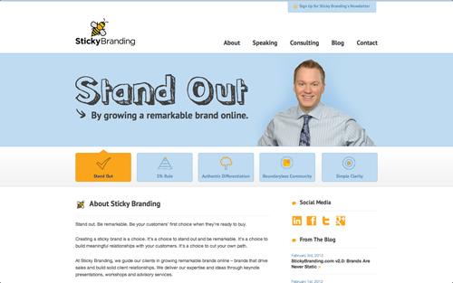 StickyBranding.com v2.0