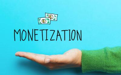 Monetize Your Marketing Content