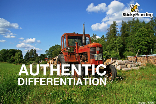 Authentic Differentiation