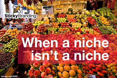 When a niche isn't a niche