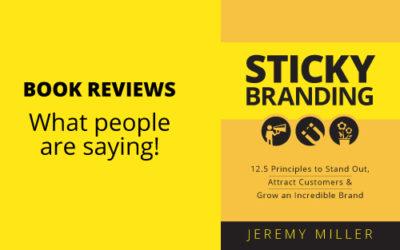 Sticky Branding Book Reviews