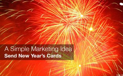 Simple Marketing Idea: Send New Year's Cards