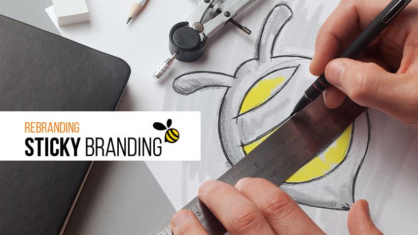 Rebranding Sticky Branding