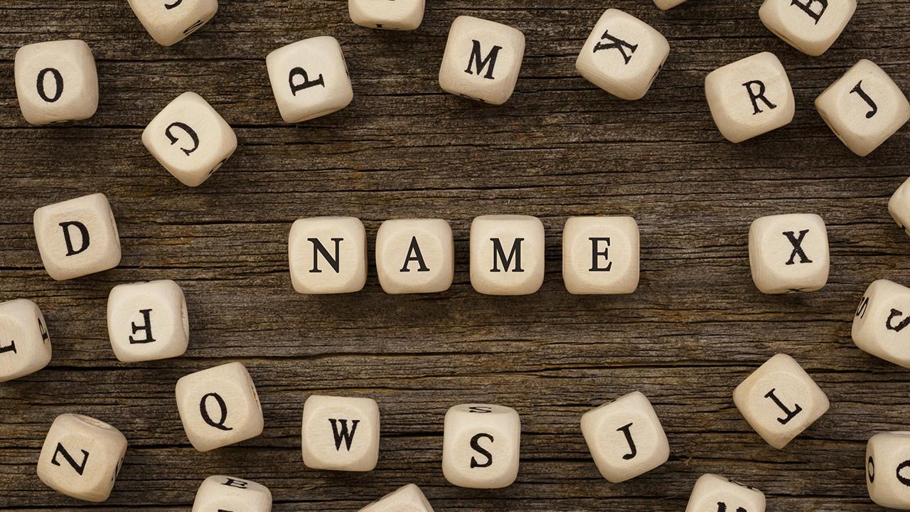 How to name a company