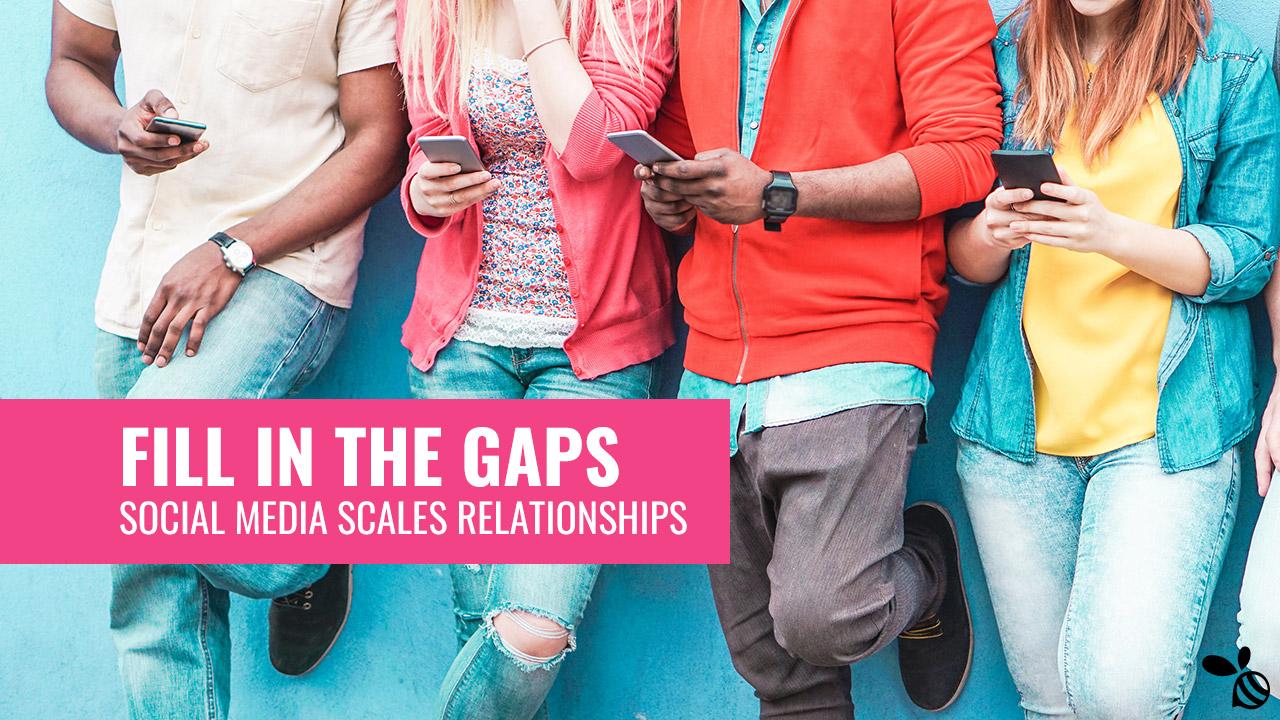 Social Media Scales Relationships