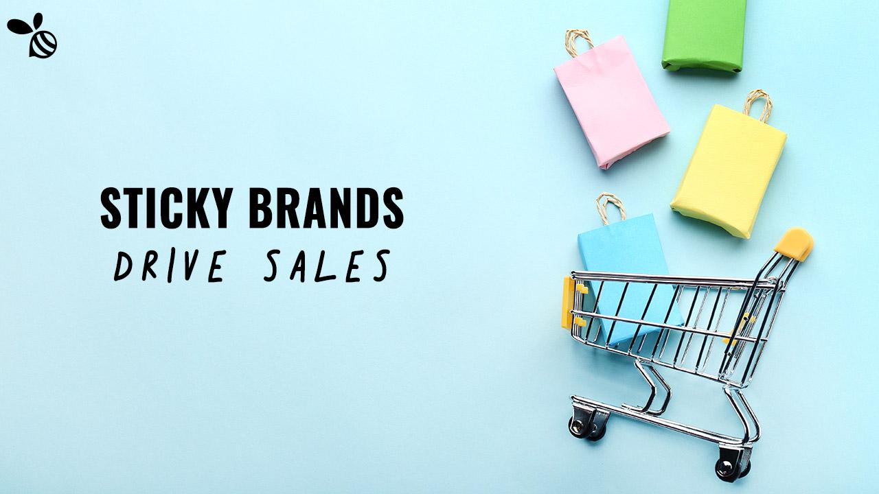 Sticky Brands drive sales