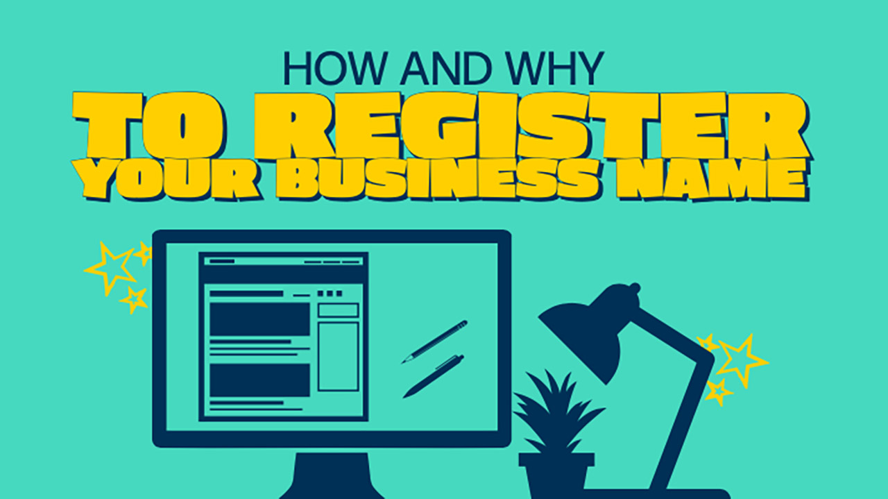 How to Register Your Business Name, and Why!