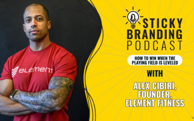 How to Win When the Playing Field Is Leveled — Interview with Alex Cibiri, CEO of Element Fitness